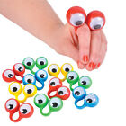 3Pc/Lot Googly Eyes Finger Spies Puppet Rings Kids Party Bag Filler Favours Gift