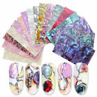 1pc Shell Nail Art Sticker Gradient  Flakes Nail Foil Decal Decoration