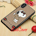 HOT SNOOPY iPhone X XR XS MAX !19GUCCY89FENDI13MK22 Samsung S9 S10 Case