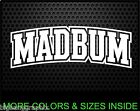 MADBUM Decal madison bumgarner san francisco giants baseball Car Window Sticker on Ebay