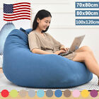Внешний вид - Large Bean Bag Chairs Couch Sofa Cover Indoor Lazy Lounger For Adults Kids Wash