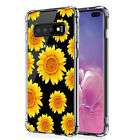 Samsung Galaxy S10 S20+ Note 10+ Rubber IMPACT HYBRID Soft Case Skin Phone Cover