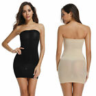 Women Seamless Strapless Full Body Slip Shaper Slimming Shaping Tube Dress S-XL