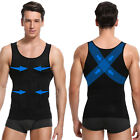 Men's Seamless Slimming Body Shaper Vest Abdomen T-Shirt Compression Sport Tank <br/> Men Posture Corrector Underwear Abdomen Shirt Tops
