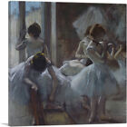 ARTCANVAS Dancers 1885 Canvas Art Print by Edgar Degas