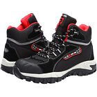 LARNMERN Men Steel-Toe Work Boots Outdoors Hiking Boots Waterproof Safety Shoes