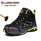 Kyпить LARNMERN Men Steel-Toe Work Boots Outdoors Hiking Boots Waterproof Safety Shoes на еВаy.соm