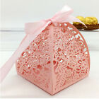 US 10/50PC Hollow Candle Candy Box Christmas Wedding Party Favor Gift Wrap Bags