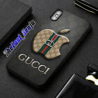 Best Case GUCCI91 Apple Luxury Pattern Cover iPhone 6,7,8,XS Max Samsung S10Plus