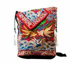 Floral Embroidery Women's Backpack Unique Schoolbags Travel Rucksack Fashionable