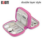BUBM Waterproof Travel Cable Storage Bag Electronics Organizer USB Charger Case