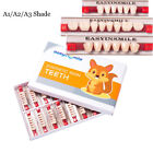 Acrylic Resin Denture Dental Full Set Teeth Upper Lower ShadeA1/A2/A3 EASYINSMIE