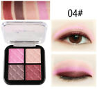 4 Color Earthy Colors Eyrshadow Matte Pearl Shimmer Eye Shadow Palette Make Up J