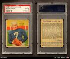 1935 National Chicle #1 Dutch Clark  Eagles PSA 2 - GOODFootball Cards - 215