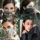 Anti-UV Camo Neck Gaiter Moisture Wicking Tube Bandana Headwrap Half Face Mask