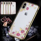 Shockproof Silicone Flower Phone Case Cover For iPhone 6S 7 8 Plus XS XR Women