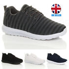 MENS LACE UP CASUAL GYM RUNNING FITNESS SPORT TRAINERS SHOES SNEAKERS SIZE