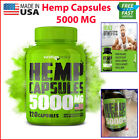 5000mg Hemp Capsules Drops Pain Relief Sleep Anxiety Aid Support Stress Joint $15.86 USD on eBay
