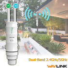 Wavlink Outdoor AC600 2.4&5G Repeater AP Wifi Signal Boosters & Ranger Extender