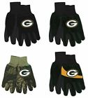NFL Green Bay Packers Assorted Adult 2-Pack No Slip Gripper Utility Gloves NEW! on eBay
