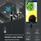 USB Endoscope Borescope Snake Inspection Camera Android Mobile Phone 5.5/7mm NEW