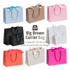 Luxury Boutique Ribbon Tie Gift Bags Bag Rope Handles Baby Wedding Party Paper