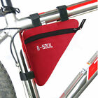 Waterproof Bicycle Bag Cycling Front Tube Frame Pouch Bike For MTB