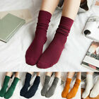 Winter Warm Thin And High Socks Ladies Long Stockings Calf Socks 10 Colors Girls