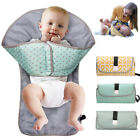 3 in 1 Foldable & Portable Baby Diaper Mat Changing Pad Clutch Station Travel UK