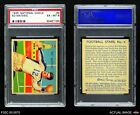 1935 National Chicle #4 Ed Matesic  Eagles PSA 6 - EX/MTFootball Cards - 215