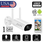 1080P HD Wireless Outdoor Indoor Security WIFI Camera System Two way Audio 2MP