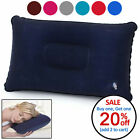 Portable Inflatable Lightweight Airplane Pillow Cushion Travel Hiking Camping