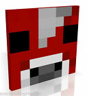 Inspired by Minecraft Faces Heads * Quality Box Canvas * Various Designs & Sizes