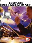 Complete Modern Drum Set Method Music Book with Video & Audio SAME DAY DISPATCH