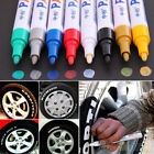 Permanent Car Tyre Paint Oil Marker Pen Black Blue Gold Red Silver White Yellow