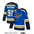 St. Louis Blues #91 Vladimir Tarasenko Blue Jersey 2019 Stanley Cup Final Stitch $37.99 USD on eBay