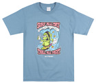 40S & SHORTIES TROLL T-SHIRT MENS STREETWEAR CARTOON TOP SLATE BLUE image
