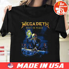 Megadeth Rust In Peace Twentieth T Shirt Black  Size S To 5XL image