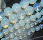 Faceted 6/8/10/12mm Sri Lanka White Moonstone Gemstone Round Loose Beads 15''