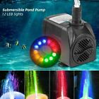 Внешний вид - Submersible Water Pump with 12 LED Lights for Fountain Pool Garden Pond Fish