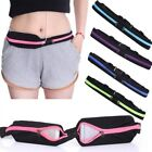 Running Sport Waist Belt Pocket Bum Bag Stretching Jogging Pack Cycling Pouch ED image