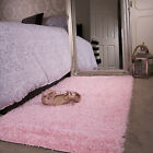 Soft Fluffy Thick Kids Pink Shaggy Rugs Baby Pink Shaggy Rug Black Friday Deal