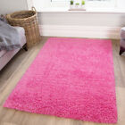 Girls Cosy Thick Kids Pink Shaggy Rugs Cheap Barbie Non Shed Shaggy Bedroom Rug
