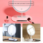 Makeup Mirror USB Rechargeable Mirror with 1X / 5 X Magnification Screen LED GIF
