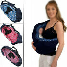 Kyпить Newborn Baby Sling Carrier Ring Wrap Adjustable Soft Nursing Pouch Front Infant на еВаy.соm