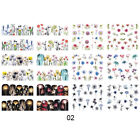 Nail Water Transfer Decals Flower Butterfly Animals Mixed Nail Art Stickers Tips