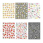 3D Nail Stickers Self-adhesive Transfer Decals Egg Yolk Design Nail Decoration