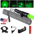 Vastfire Red or Green Hog Coyote Fox Rifle Mount Hunting LED Flashlight Light US