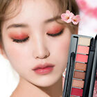 10Colors Eyeshadow Natural Shimmer Matte Palette Eye Shadow Make up Comestic GIF