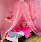 Star Bed Canopy Lace Mosquito Net for Girls Boys Adults Bed, Princess Play Tent  image